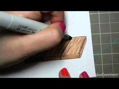 Copic Wood Texture Tutorial