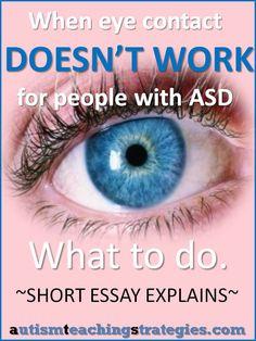Essays On Autism Spectrum Disorder
