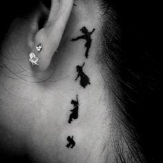 Peterpan tattoo