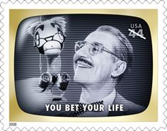 You Bet Your Life US Postage Stamp