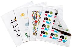 People towels- cute and eco-friendly alternative to paper towels.