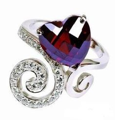 antique crystal ring