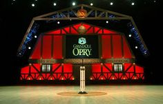 The Grand Ole Opry...