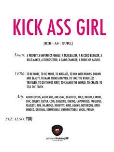 Kick Ass Girl