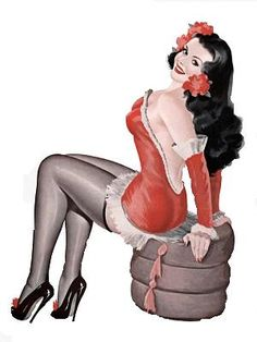 pin up girls were so pretty. wish our models still looked like this