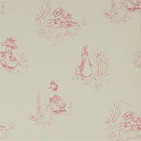 Patterns wallpapers fabrics on pinterest 28 pins - Papier peint toile de jouy ...