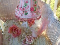 OMG Gorgeous Shabby Chic Lamp