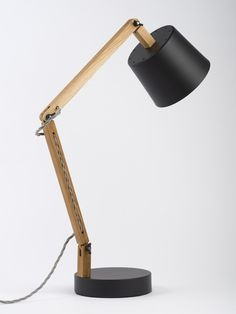 Workroom . black/grey angle table lamp 2.0, for Douglas + Bec
