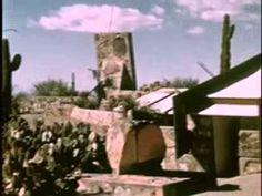 Taliesin West Frank Lloyd Wright's Masterpiece In The Arizona Desert - YouTube