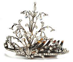 pandora jewelri, princess, amaz jewelri, diamond tiara, crown, boxes, breakfast at tiffanys, circa 1900, tiaras