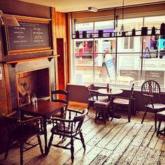 The Sun Inn coffee lounge