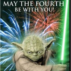 May the fourth be with you! :)