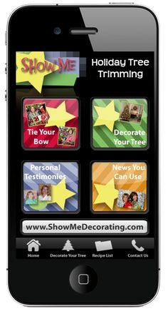We show you how to decorate your Christmas tree! www.app.showmedecorating.com