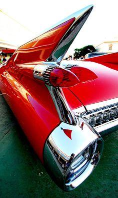 59 Cadillac Eldorado! dead sexy...highest fin of all.