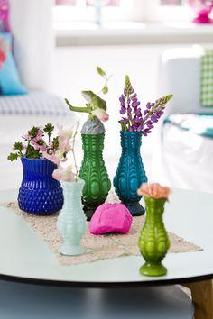 glass vases - rice dk
