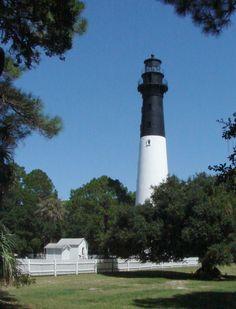 Lighthouse near Beaufort SC