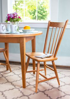 These lovely wooden Windsor-style Guest Chairs are perfect for additional seating in any room of your house. Sturdily built out of sustainably harvested hardwoods, they are built to look beautiful for generations.