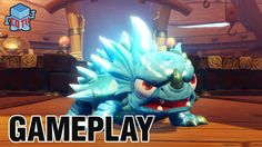 For The Win - here's some fun #Skylanders Swap Force Lightcore Warnado gameplay!
