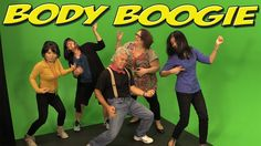 Body Boogie is a popular children's movement and dance song. It's great for brain breaks, circle-time and indoor recess.