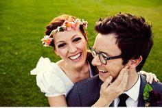 More floral headpieces photographi inspir, photo inspir, smile, floral headpiec