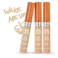 Rimmel Wake Me Up Concealer - I've been loving this lighter coverage concealer in summer for both the undereye and facial redness/blemishes!