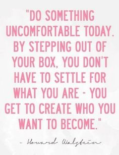 I love this! I love the fact that I can create who I want to become, not what anyone says I am or come from! With a whole lot of help from Jesus I can be who I am supposed to be!