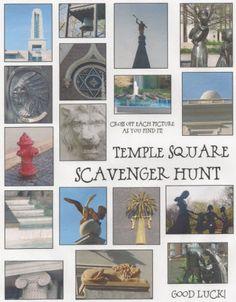Temple Square Scavenger Hunt