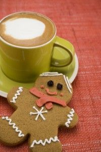 A healthier, home made alternative to Starbuck's Gingerbread latte