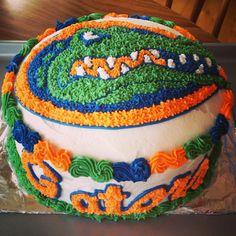 gator cake, florida gators cake