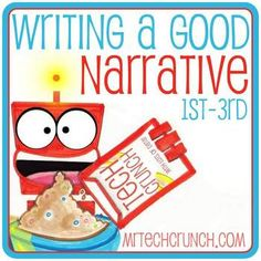 1st-3rd Narrative Writing Checklist, Aligned to Common Core