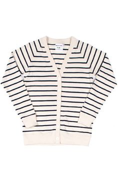 Columbiaknit Cardigan Navy Stripe, for over the bridesmaids dresses when the evening gets cool