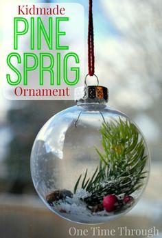 Kidmade Pine Sprig O