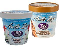 Low-Cal Frozen Treat- Arctic Zero Ice Cream! 150 Calories PER PINT!