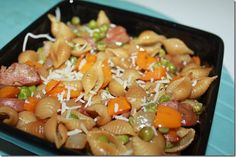 Apple Chicken Sausage Pasta Skillet!