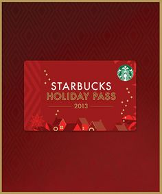 Take a look at this Starbucks Holiday Pass by Starbucks on #zulily today!  $25.00 for 35.00