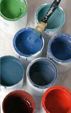 Annie Sloan chalk paint.
