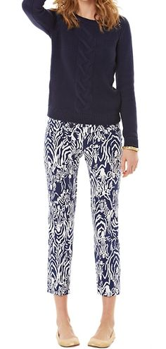 Lilly Pulitzer Eileen Cable Knit Sweater
