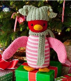 He is absolutely ADORABLE!! Huggable Happy Colors Penguin | FaveCrafts.com