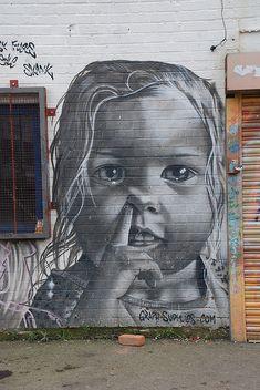~ Street Art ~    love this...