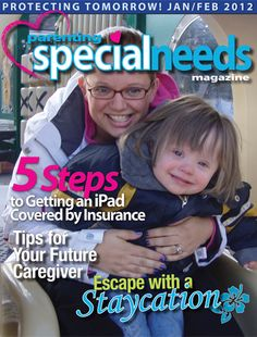 An free, on-line magazine for families of children with special needs.