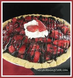 Super easy strawberry pie tastes like you spent hours making it!