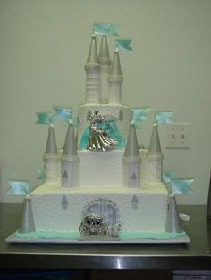 Lovely castle cake!