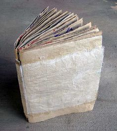 How to make a brown paper bag book