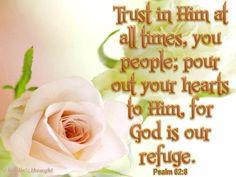 .PSALMS  62:8