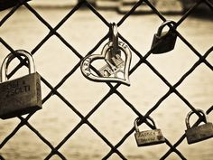 When couples go to Paris they put padlocks on the love lock bridge for their marriage.