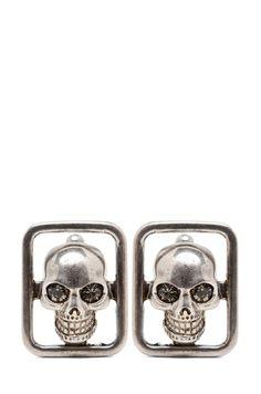 Alexander McQueen Skull Cufflinks....