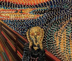 pencil-art-faber-castell-scream-1.jpg (605×514)