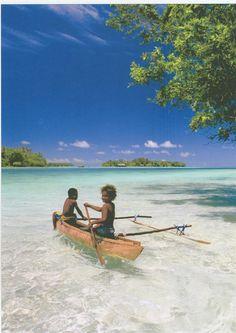 Vanuatu beach, Fiji Islands