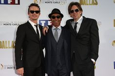 Revolution David Lyons, Giancarlo Esposito, and Billy Burke.  2013 June 10, Monte Carlo.  #billyburke #davidlyons #giancarloesposito #nbcrevolution #Revolution