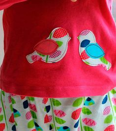 We can't get enough of these #DIY Birdie Pajamas. Click through for a free tutorial on Joann.com